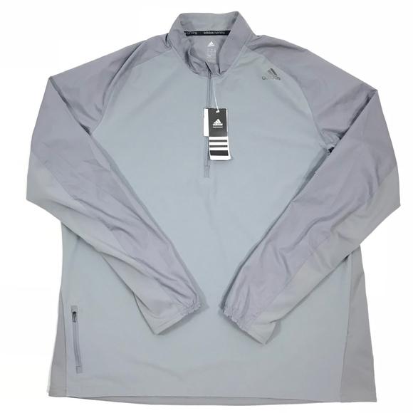 Adidas Running Supernova Storm 12 Zip Sweater NWT